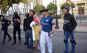 Stop Represión recuerda en El Espolón el caso del 14N