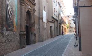 El barrio del Burgo de Alfaro muestra su nueva imagen tras diez meses de obras