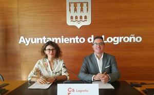 Ciudadanos exige la construcción de aceras y carril bici en avenida de Burgos