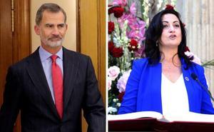 Felipe VI recibirá el próximo miércoles a Concha Andreu