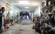 La Guardia Civil desmantela dos talleres ilegales en Logroño
