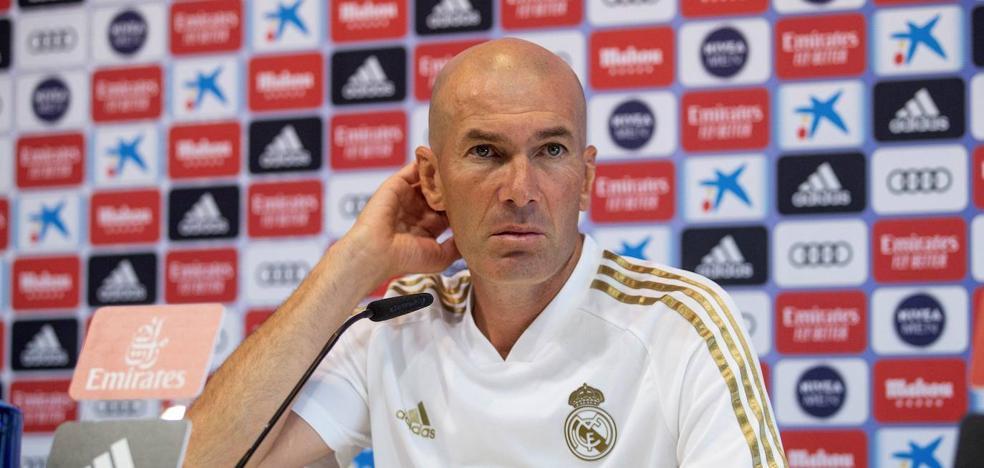 Zidane: «Dejad de decir que no cuento con Vinícius»
