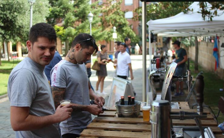 Lardero acoge la Feria de la Cerveza Artesana