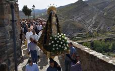El obispo presidió los actos religiosos de la Virgen de la Soledad