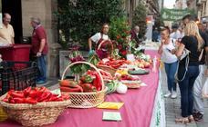 La huerta riojana decora Portales en el 51 Concurso Agrícola