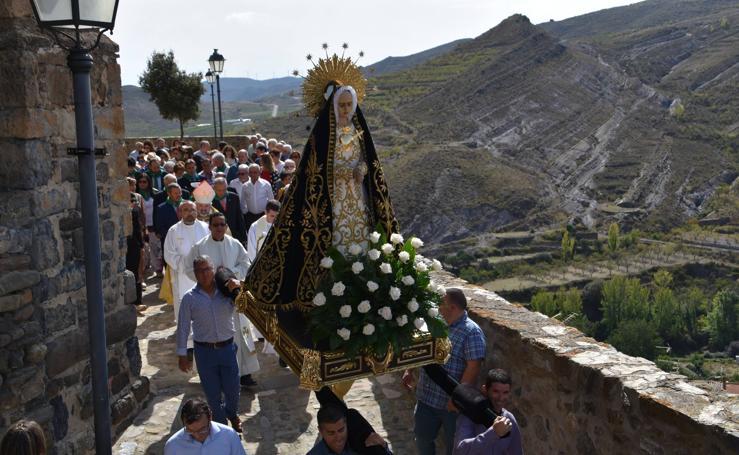 Cornago vivió la procesión de la Virgen de la Soledad