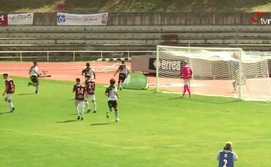 Vídeo: Un testarazo y un penalti derrotan al Haro
