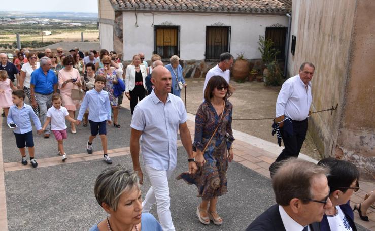 El Villar de Arnedo se fue de procesión el sábado