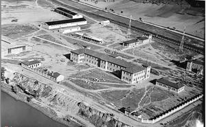 Construcción del aérodromo de Agoncillo