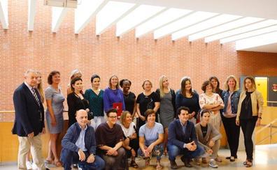Trabajadores de universidades europeas intercambian experiencias en la UR