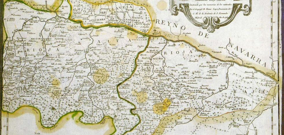El primer mapa de La Rioja tiene 250 años