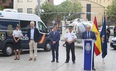 Logroño acoge la exposición de la Policía Nacional