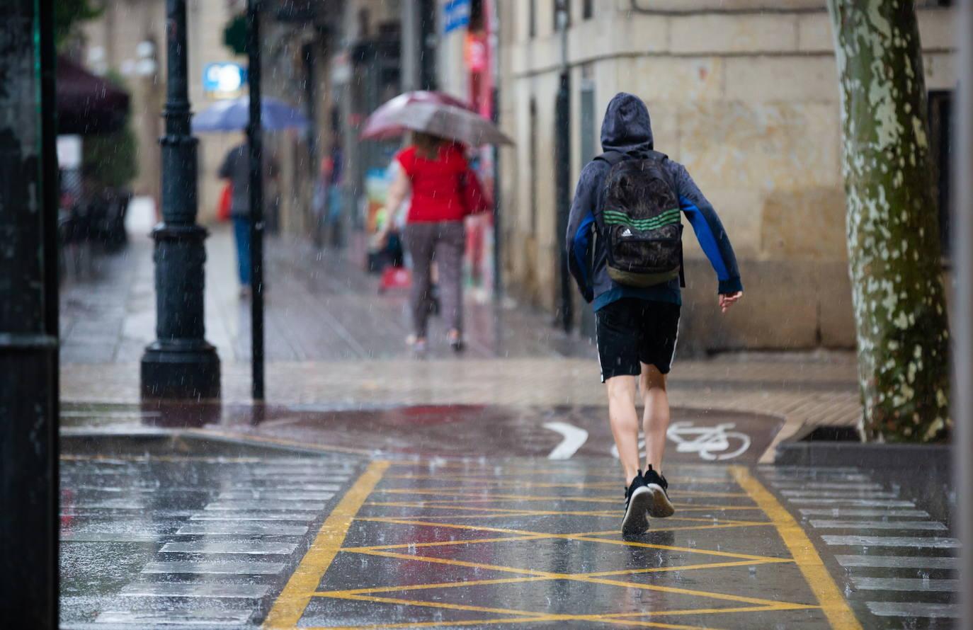 AEMET alerta de nivel amarillo por tormentas en la comunidad