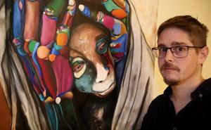 Exposición de pinturas de Asier Biota