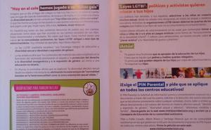 IU denuncia que Hazte Oír reparte propaganda antiLGTBI en los colegios e institutos