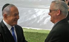 Netanyahu propone a Gantz formar un gobierno de unidad