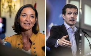 La ministra de Industria, Reyes Maroto, y Pablo Casado asistirán al Pisado de la Uva