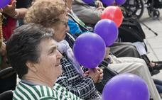 La residencia Hospital del Santo celebró un acto para concienciar sobre el alzhéimer