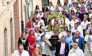 El primer mosto para la virgen en Rincón de Olivedo