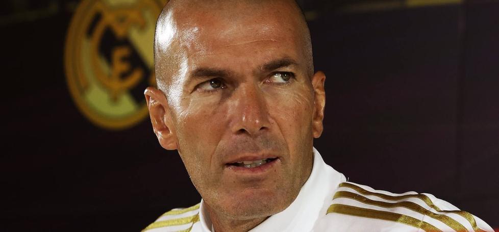 Zidane: «No me siento cuestionado, al revés»