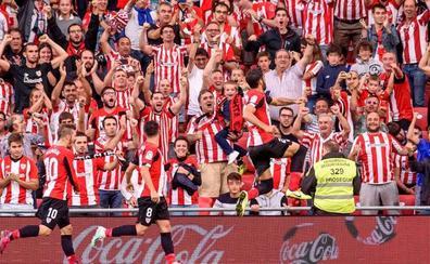 El Athletic sigue intratable en San Mamés