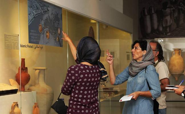 Irán 'descubre' el Mediterráneo con una exposición arqueológica de Alicante