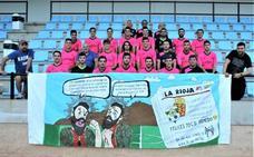 Diario LA RIOJA, en la pancarta de La Chispa