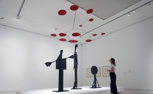Picasso y Calder, cazadores del vacío