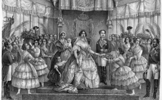 El Gobierno iraní retira una litografía de Isabel II donde aparece con escote