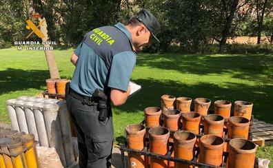 La Guardia Civil intensifica los controles de los espectáculos pirotécnicos