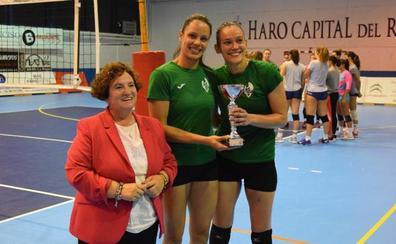 El Voleibol Logroño gana el Memorial Lorena Ojeda