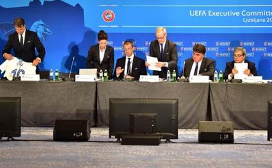 San Petersburgo, Múnich y Londres acogerán las finales de 2021, 2022 y 2023