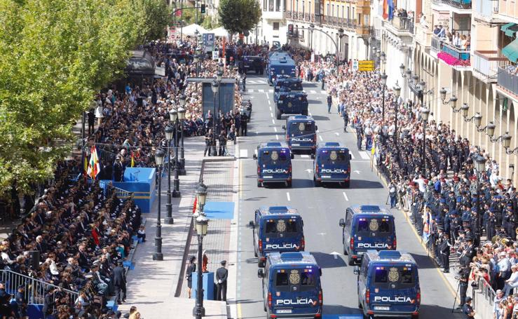 Desfile del Día de la Policía