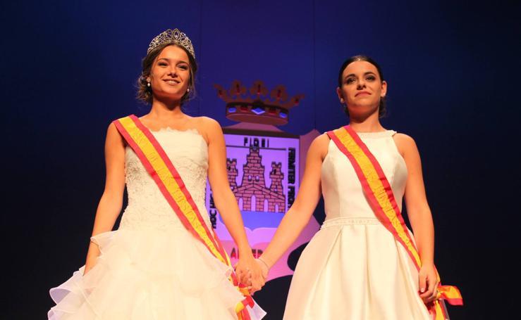 Coronación de reina y damas y lectura del pregón de las fiestas de Arnedo