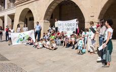 Unas ciento cincuenta personas se unen en Santo Domingo a la huelga climática global