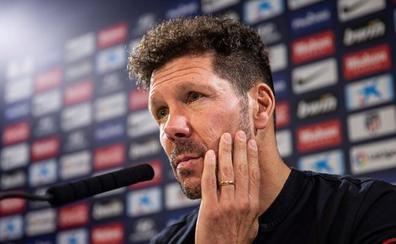 Simeone: «¿Ganar la Champions o el derbi? El derbi, porque sólo pensamos en mañana»