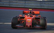 Leclerc logra una 'pole' con aroma a Schumacher