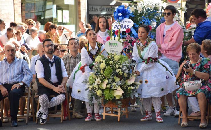 Ofrenda de flores a la Virgen de Valvanera