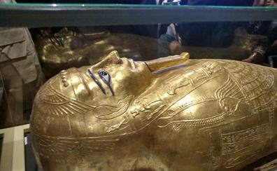 El sarcófago de Nedjemankh vuelve a Egipto tras haber sido robado en 2011