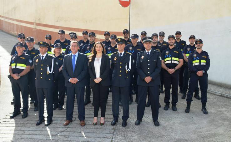 La Policía Local de Calahorra se viste de gala