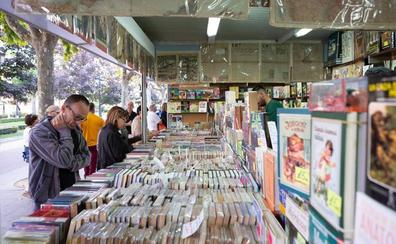La Feria del Libro Antiguo de Logroño regresa al Espolón con 19 puestos y 39 ediciones