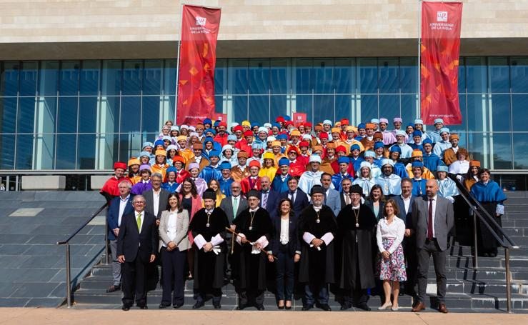 Apertura oficial del curso 2019-2020 de la Universidad de La Rioja
