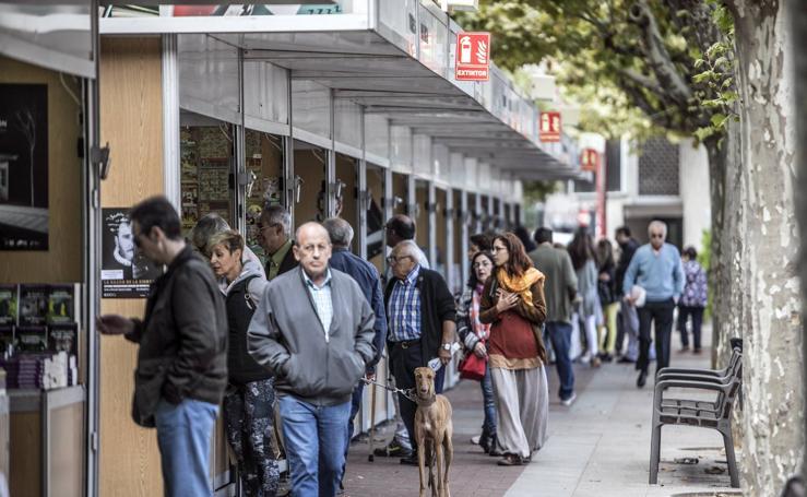 Abierta la 39ª Feria del Libro Antiguo y de Ocasión en Logroño