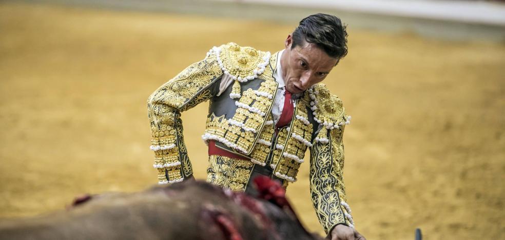 Diego Urdiales sustituye a Manzanares este domingo en Zaragoza en el cartel estrella de la Feria del Pilar