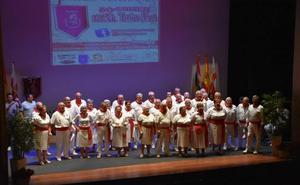 Los joteros veteranos cantan en Calahorra