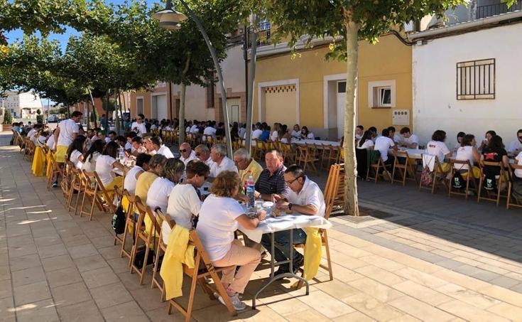 La Peña Unión 76 celebra el II día del peñista en Pradejón