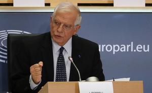 Examen tranquilo a Borrell en la Eurocámara