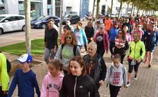 Marcha de la AECC de Calahorra contra el cáncer