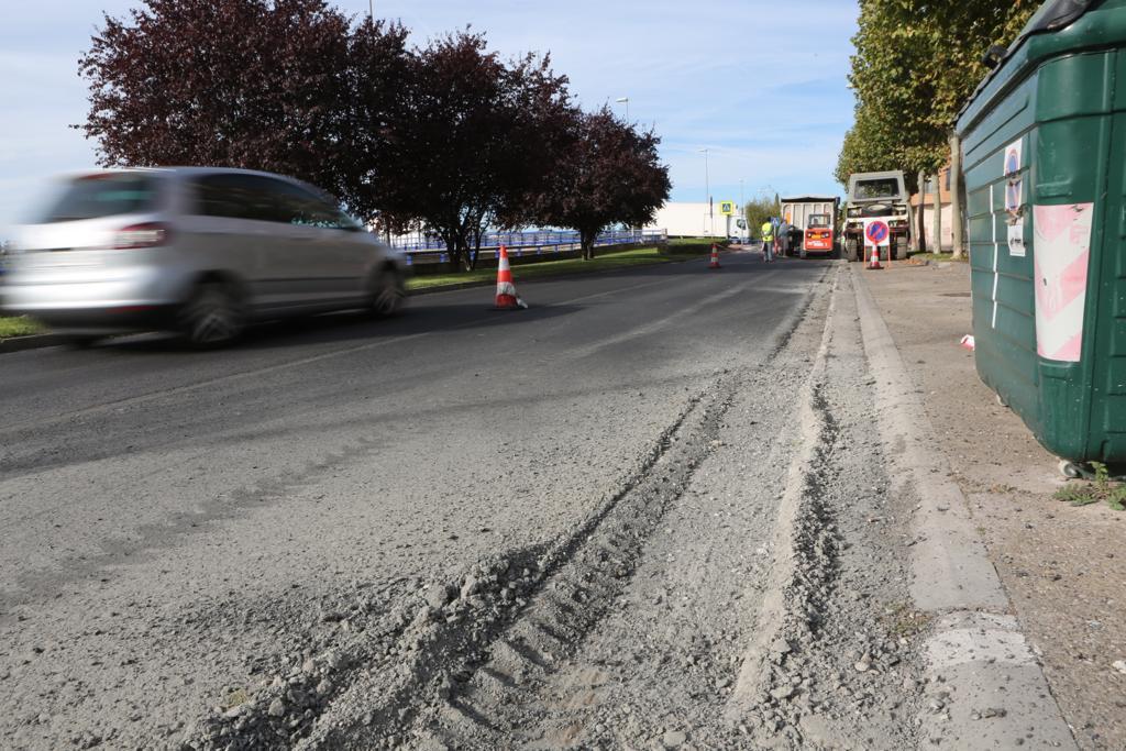 Comienza el asfaltado en Lope de Vega
