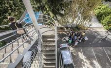 Arquitectos riojanos visitan la fábrica de cerámicas reconvertida en viviendas